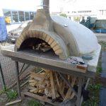 Forno a legna per pizza usato