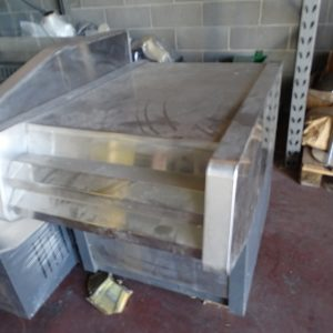 Piano neutro in acciaio accessorio cucina industriale