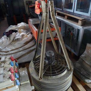 Ventilatore a soffitto per officina