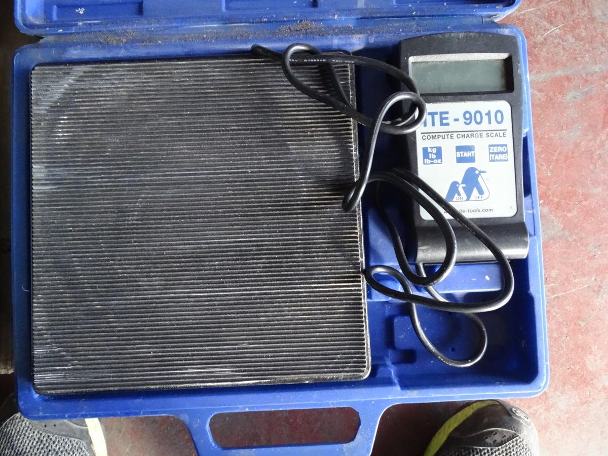 Bilancia elettrica per gas refrigeranti