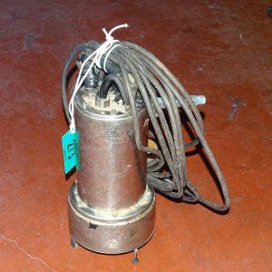 Pompa elettrica sommersa in acciaio