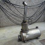 Depuratore fumi di scarico per macchine operatrici