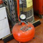 Serbatoio aria compressa