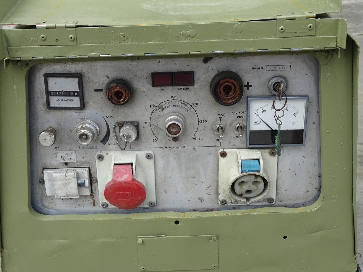 Moto saldatrice Gen-Set