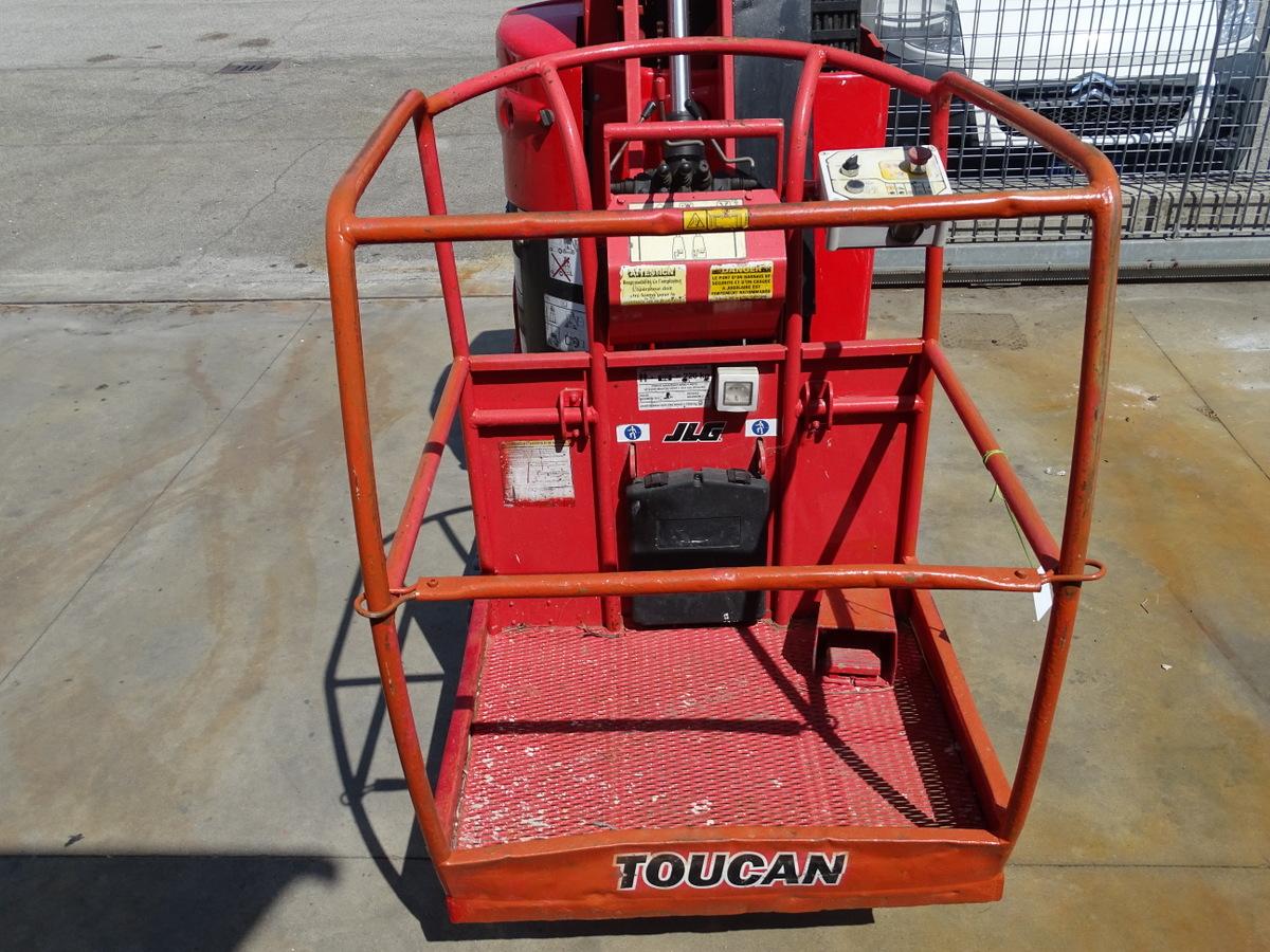 Piattaforma a batteria Toucan