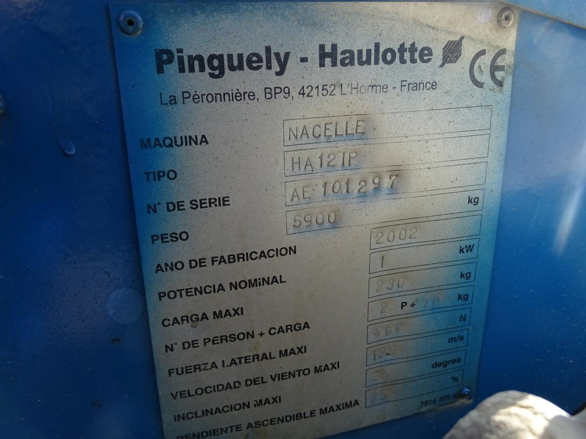 Piattaforma articolata Haulotte
