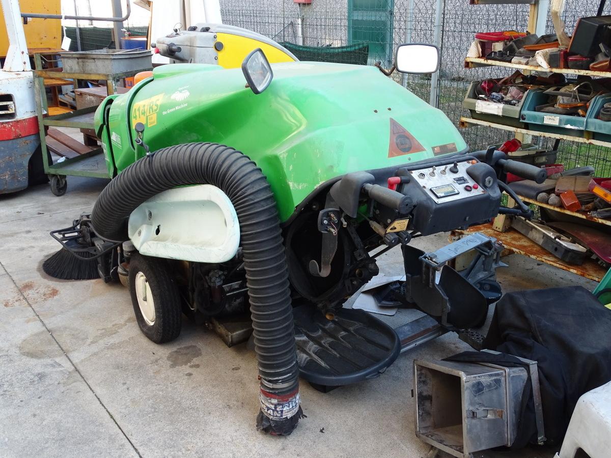 Moto spazzatrice Green Machine