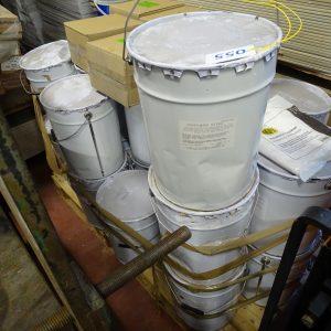 Fusto da 25 kg di vernice tipo protettivo