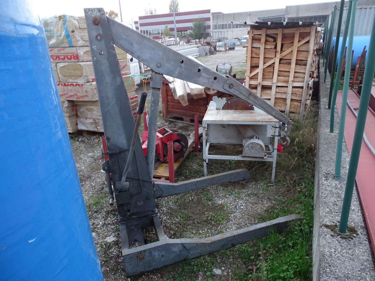 Sollevatore idraulico portata kg 1000