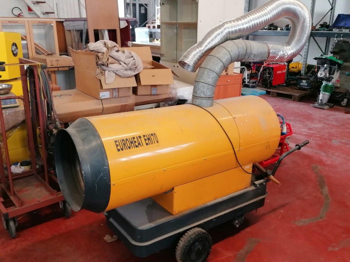 Riscaldatore a gasolio Euroheat Ehi70