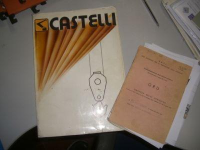 Autogru Castelli 4 assi da fallimento